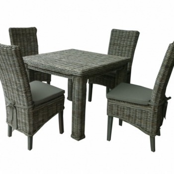 Enhoven Kubu Dining set 5PCS